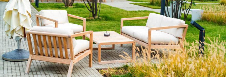 Achat de mobilier spécial jardin