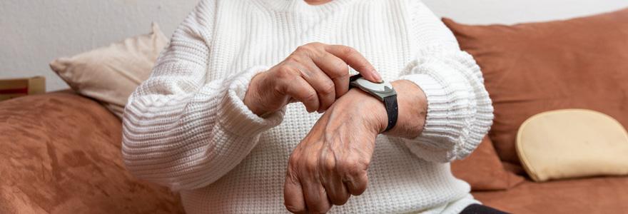 Bracelet de téléassistance