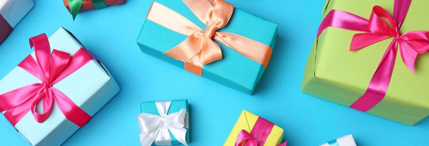 idées de cadeaux en ligne