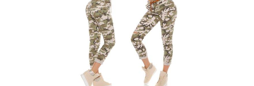 pantalon de camouflage
