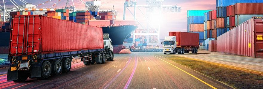 secteur de la logistique ou des transports