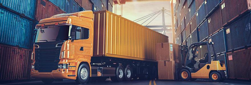 Transport et logistique en ligne