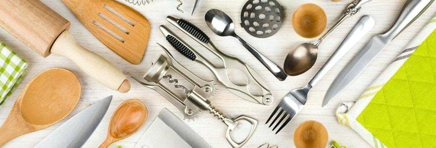 Ustensiles et matériel de cuisine professionnel et particuliers