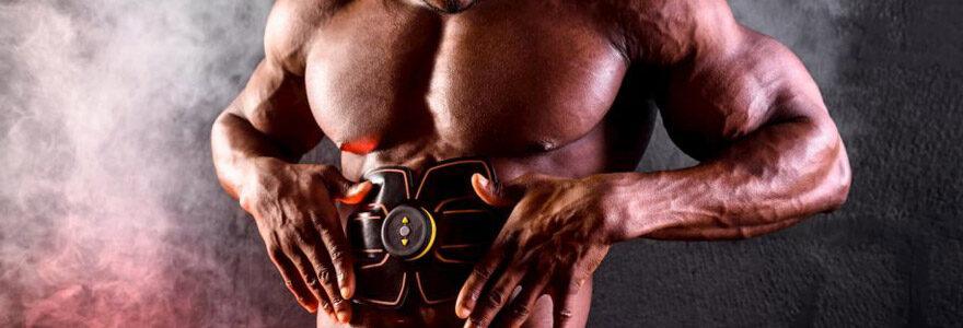 ceintures d'électrostimulation abdominale
