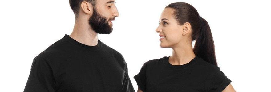 T-shirt pour couple